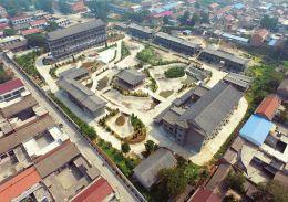 建设中的绛州澄泥砚文化园