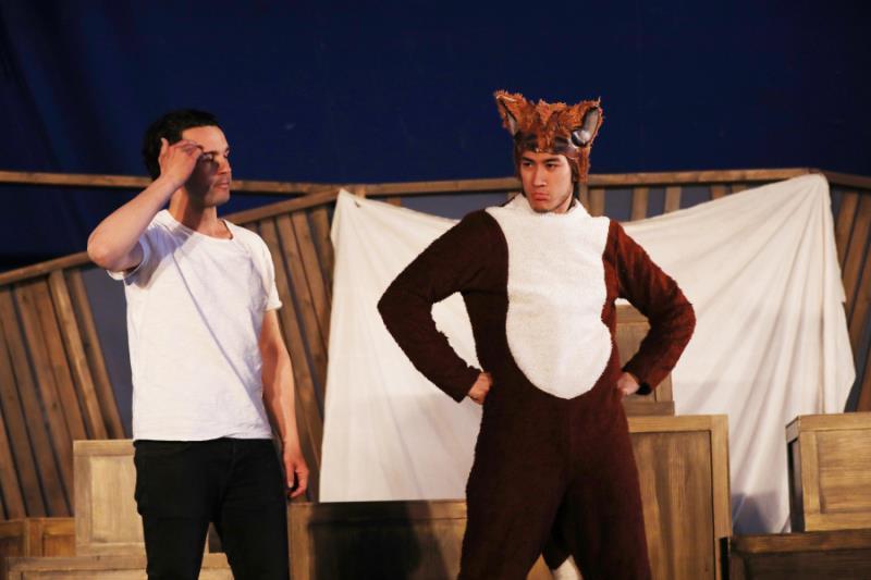 《旅途的花样》套路升级李治廷扮超萌狐狸演双簧