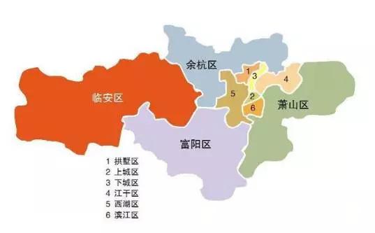 它的加入让杭州市区猛增到8000平方公里,一举超过上海.图片
