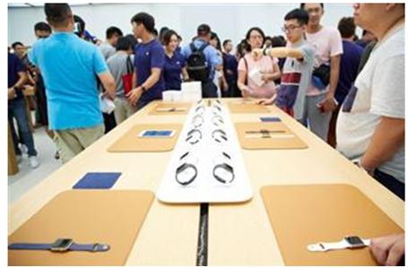 苹果手表出货量预计今年将达到1500万部