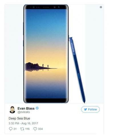 三星Note8什么时候上市 三星Note8发布会亮点汇总图片