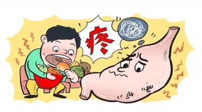 患上胃溃疡 反而胖到190斤 吃不停抵抗饥饿感 成恶性图片