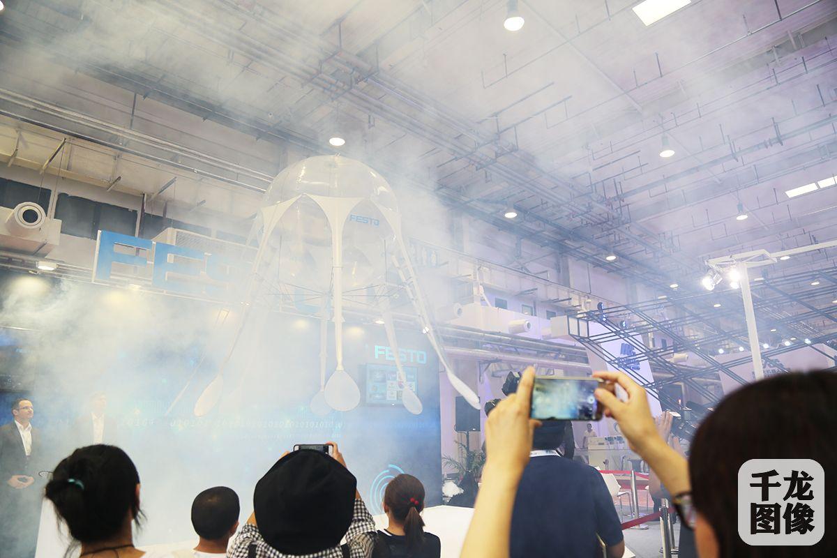 2015年,第一届世界机器大会举办后,费斯托颇受鼓舞.图片