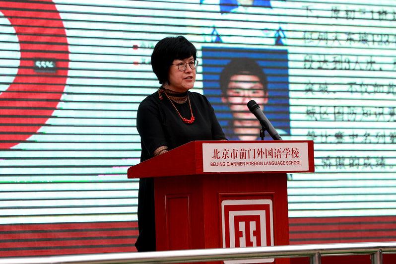 北京前门外国语学校引进欧美体育项目