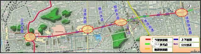 除了三環北路高架快速路,還有兩條快速路建設已經被提上日程.圖片
