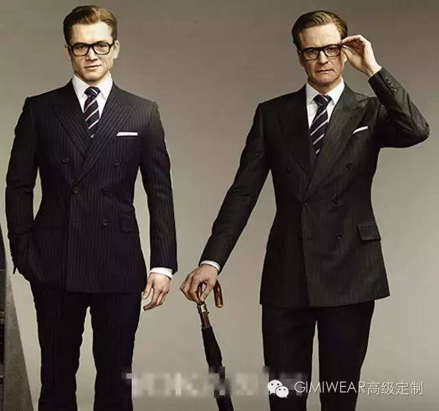 塔伦·埃格顿 和科林·费斯身着双排扣西装演绎最帅王牌特工