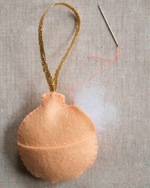 不織布小飾品diy制作 簡單布藝掛件手工制作圖片