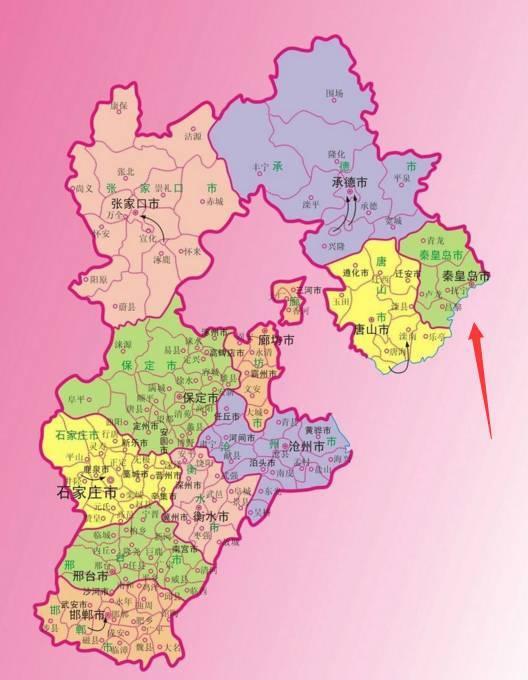 山海关区地图全图