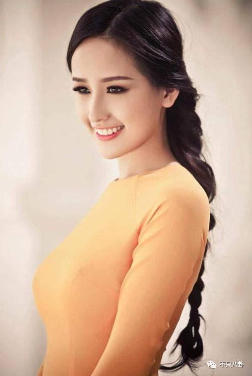 小姐_越南名模,17岁就当选越南小姐.