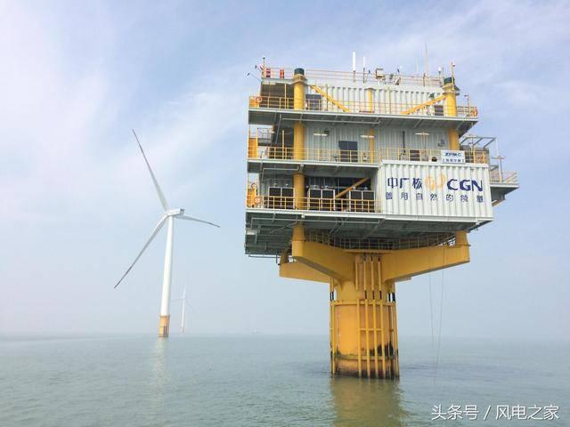 带你走进中广核如东海上风电场