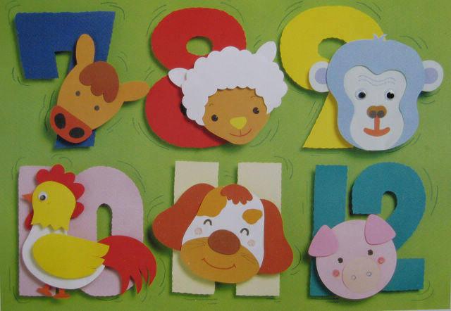 幼兒園手工類12生肖環境創設,有創意哦!圖片