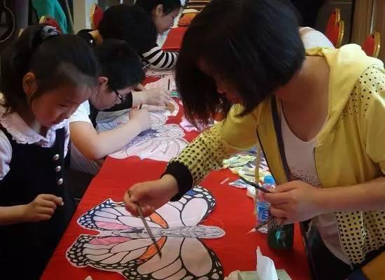 diy親子風箏制作現場 diy親子風箏制作活動, 讓小朋友們開動大腦,制作圖片