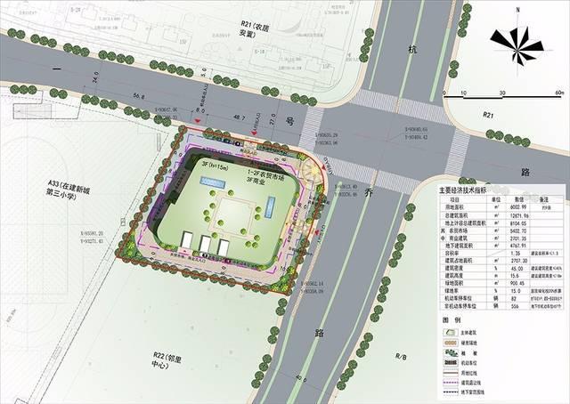 【一周規劃】余杭臨平新城,喬司商貿城3宗商地選址論證發布圖片