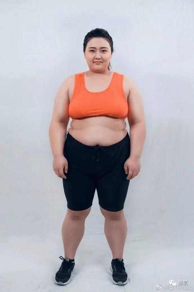 帶著204斤的肉,目標是3個月,瘦100斤.圖片