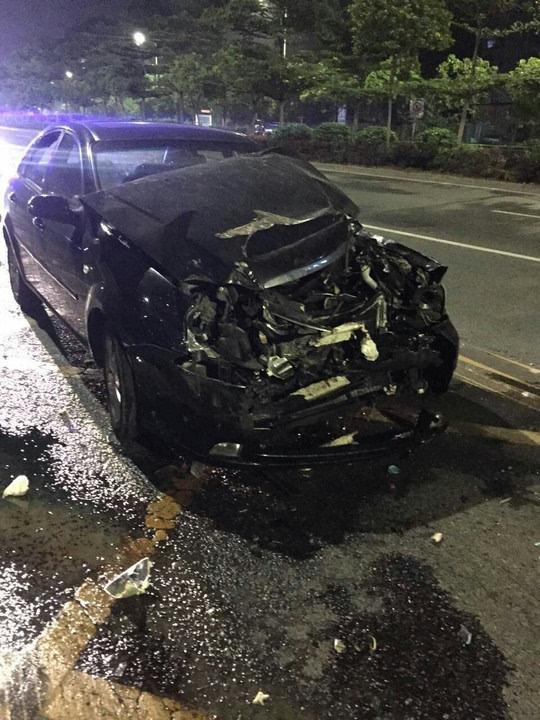 车祸死亡_车祸现场图片 醉驾教师连撞两车 30 小时后死亡 5 月 1 日下午,教师