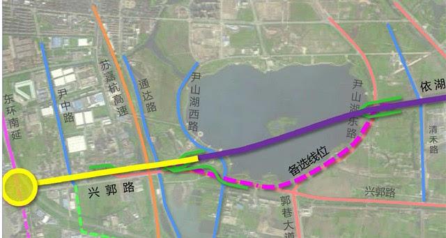 其中快速路有:南湖路快速路東延吳中區段,中環快速路北線二期工程,蘇圖片