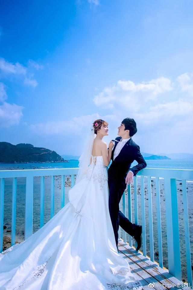 媳妇的骚水_lol:骚男和七七拍浪漫婚纱照,网友:媳妇身材真好,腿玩
