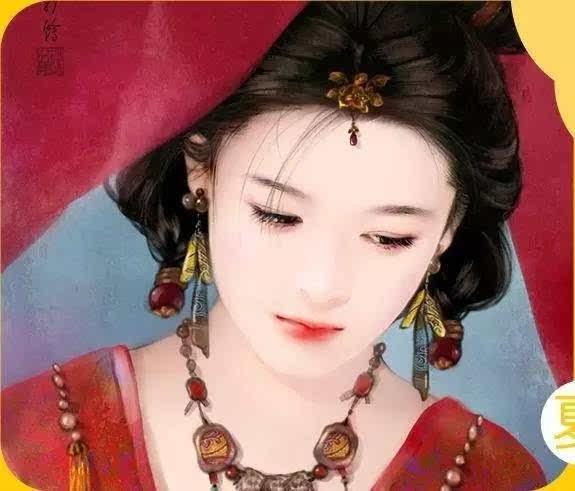 小山眉的女人_在那时还有一种说法,地位越高的女人眉毛画得也更高.