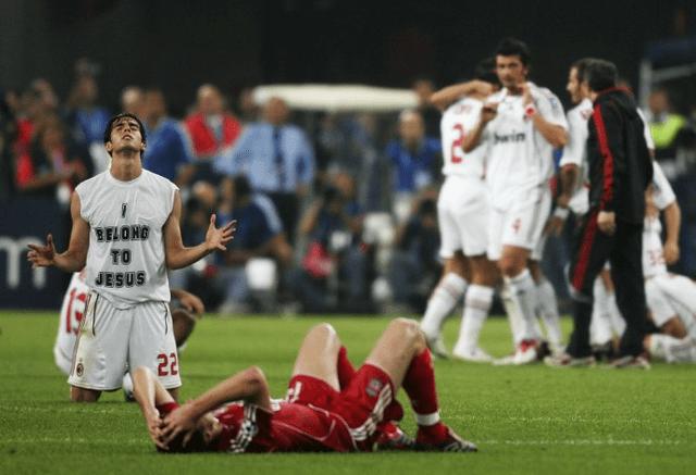 2007年5月23日歐冠決賽ac米蘭2比1利物浦首發陣容圖片