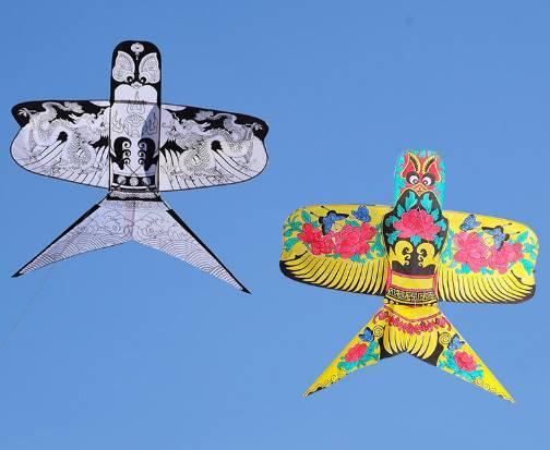 diy填色風箏材料包圖片