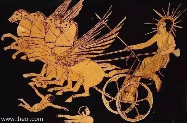 太阳神z7_相隔万里的奇妙共鸣,中国和古希腊的太阳神都是驾着马车的\