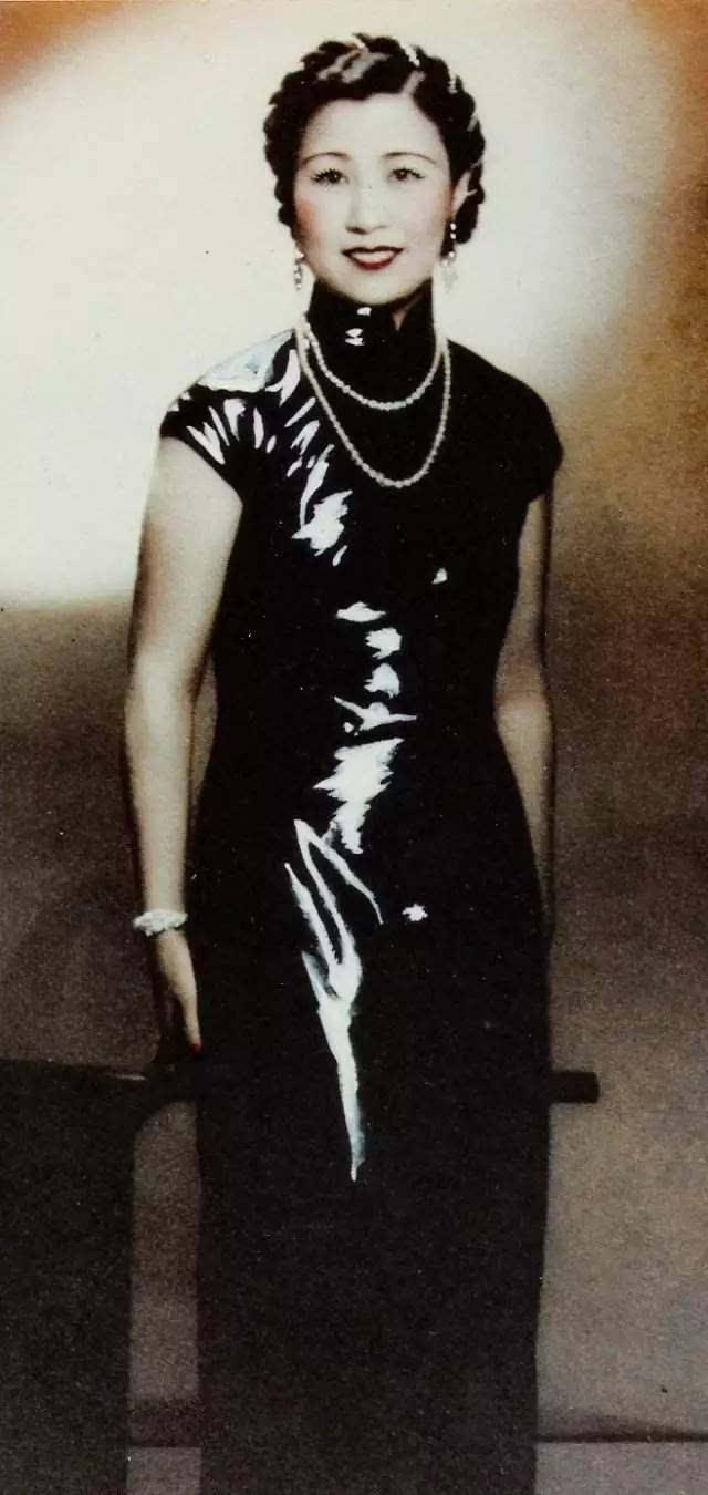 教宋慶齡穿旗袍,玩轉歐美社交圈,這位民國名媛擁有了一切,除了愛情圖片