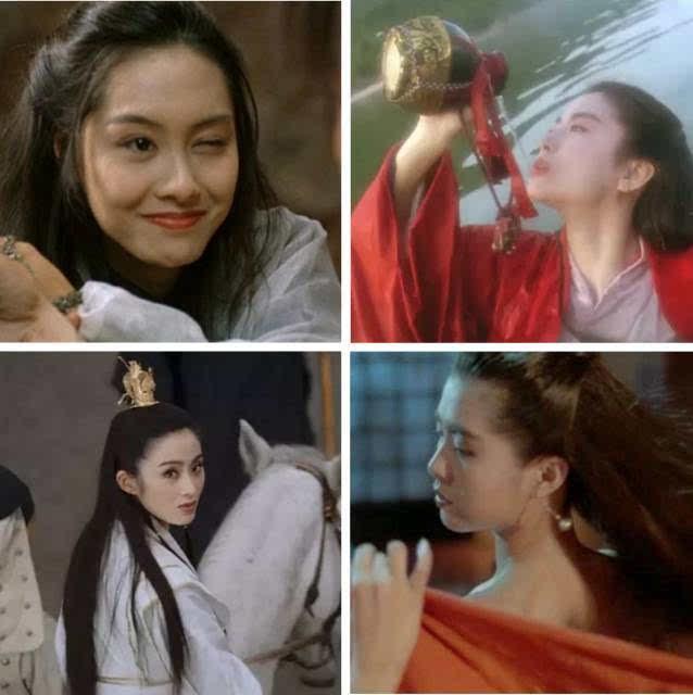 电影港_说起香港电影最美的银幕形象,在毒药君心中,有四美必须上榜:朱茵眨眼