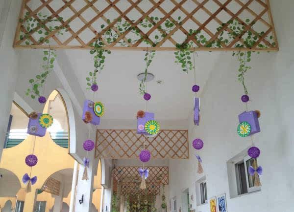 【环创】100款幼儿园走廊创意吊饰+主题墙布置,非常实用!