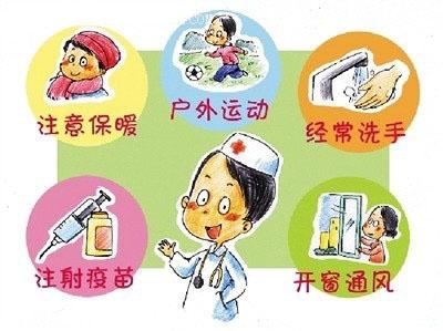 在预防流感时,也可以喝点中药汤剂.6.注射疫苗. 返回搜