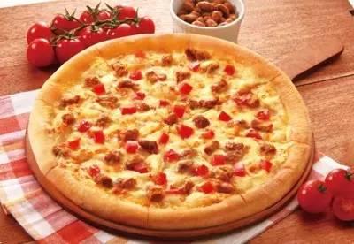 45青蜂的意式香肠披萨