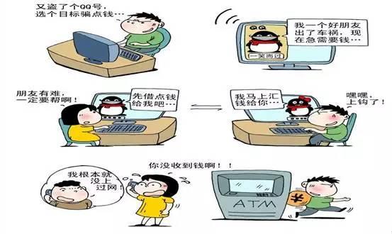 怎么盗取对方qq密码_【警惕】老人和孩子该如何避开网络、电信诈骗黑手?