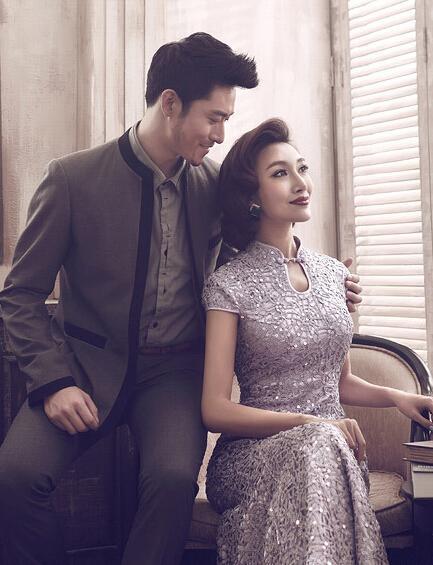 美人鱼婚纱照_旗袍应该是婚纱照之首选