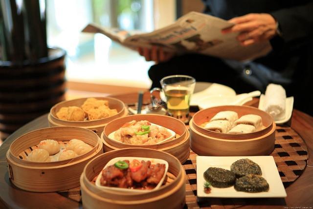 像一個廣東人一樣吃早茶圖片