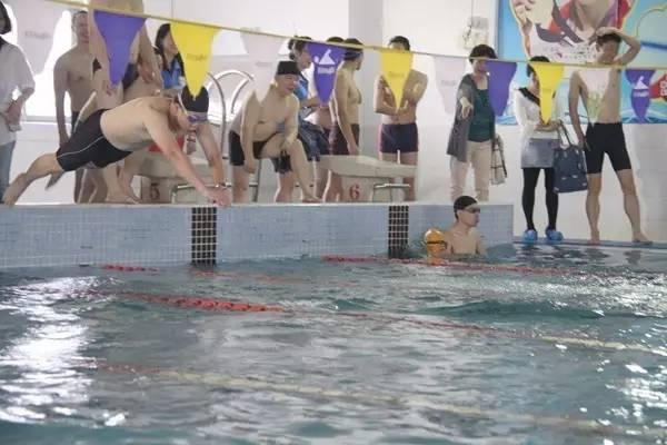 子接力游泳比賽活動圖片
