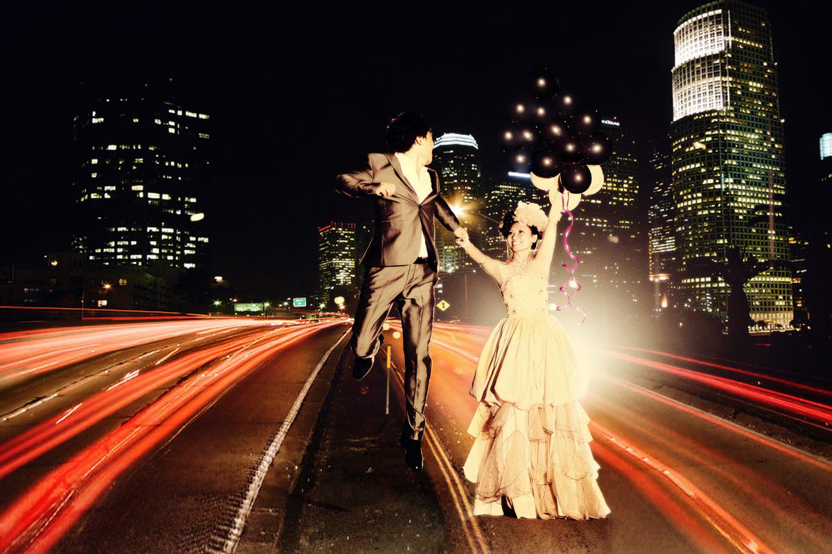婚紗攝影:夜景婚紗照怎樣拍好看