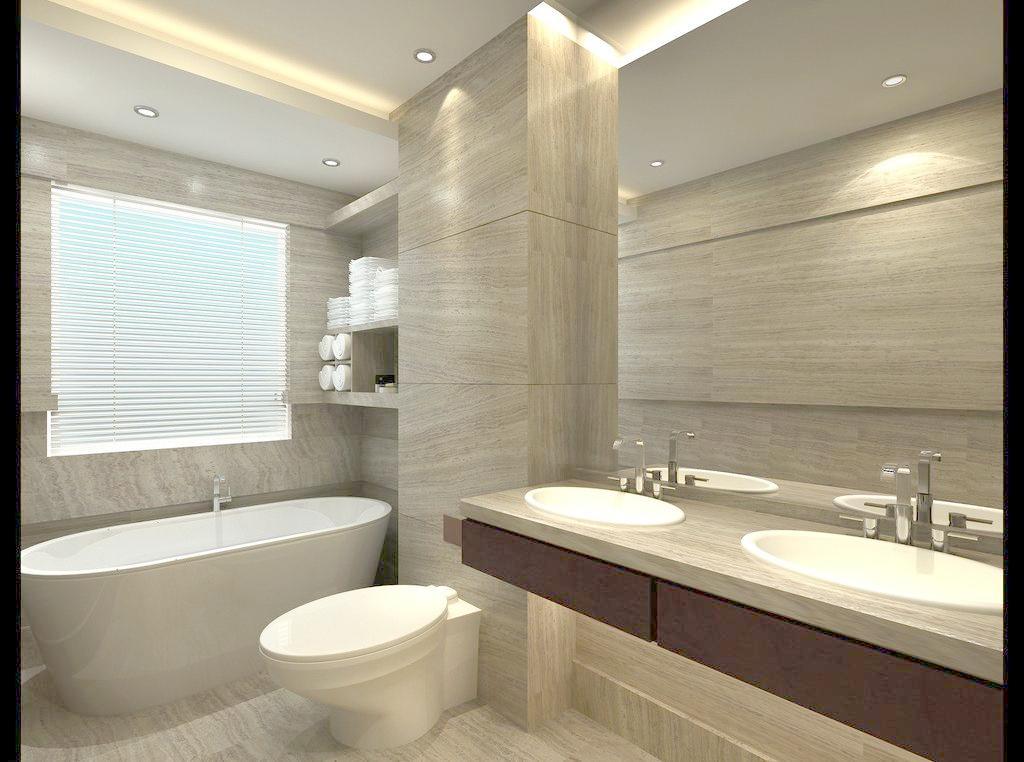 靓丽卫生间装修样板房 成都家装网