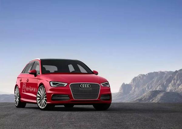 奥迪A3Sportback-tron入围第八批免征购置税的新能源汽车