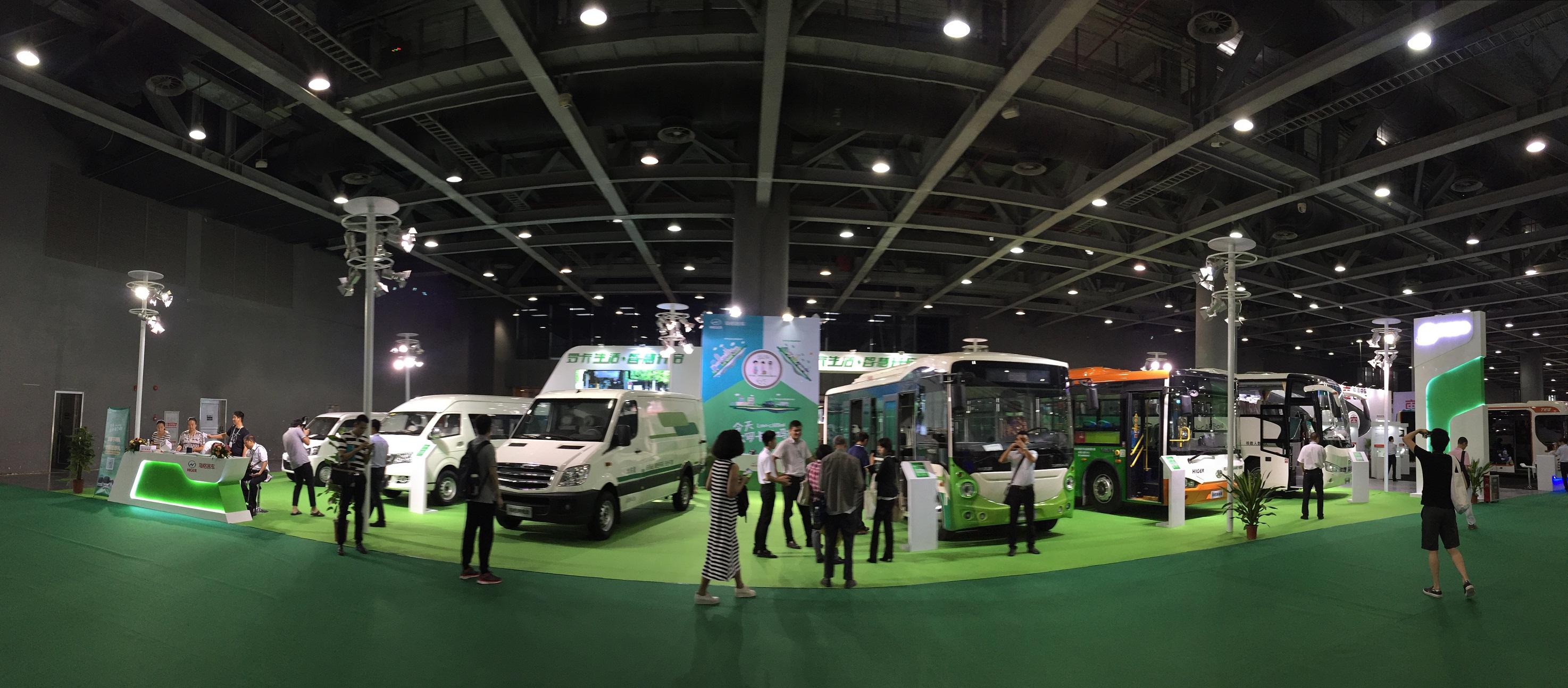"""海格的""""罗卡""""概念在广州新能源车展上大放异彩"""