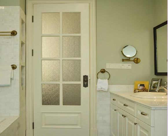 卫生间铝合金玻璃门_卫生间的门大概要多少钱-