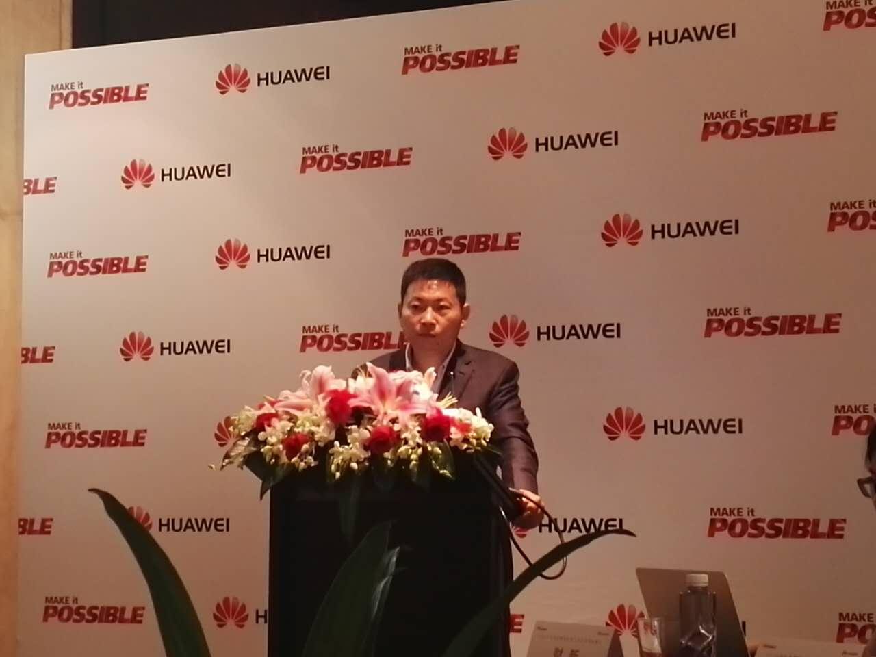 华为手机今年目标出货1.4亿部 营收280亿美元的照片 - 1