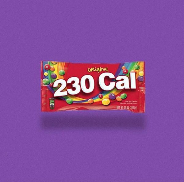 一袋彩虹糖,230卡路里