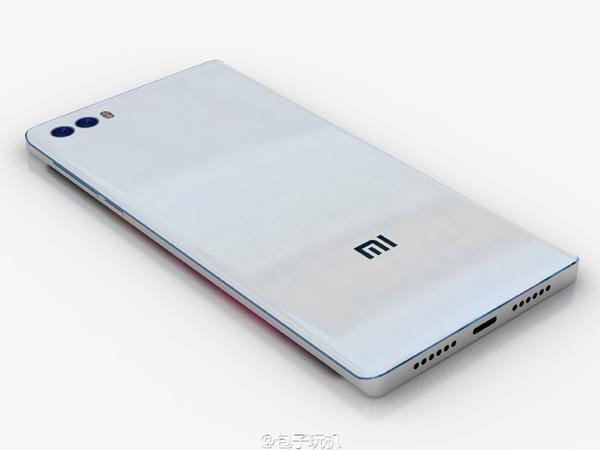 小米双曲面屏手机概念图来袭的照片 - 5