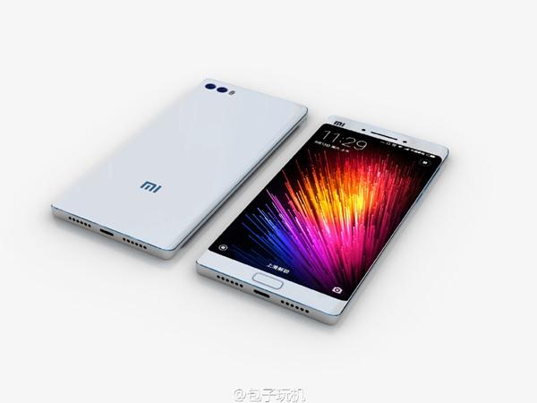 小米双曲面屏手机概念图来袭的照片 - 1