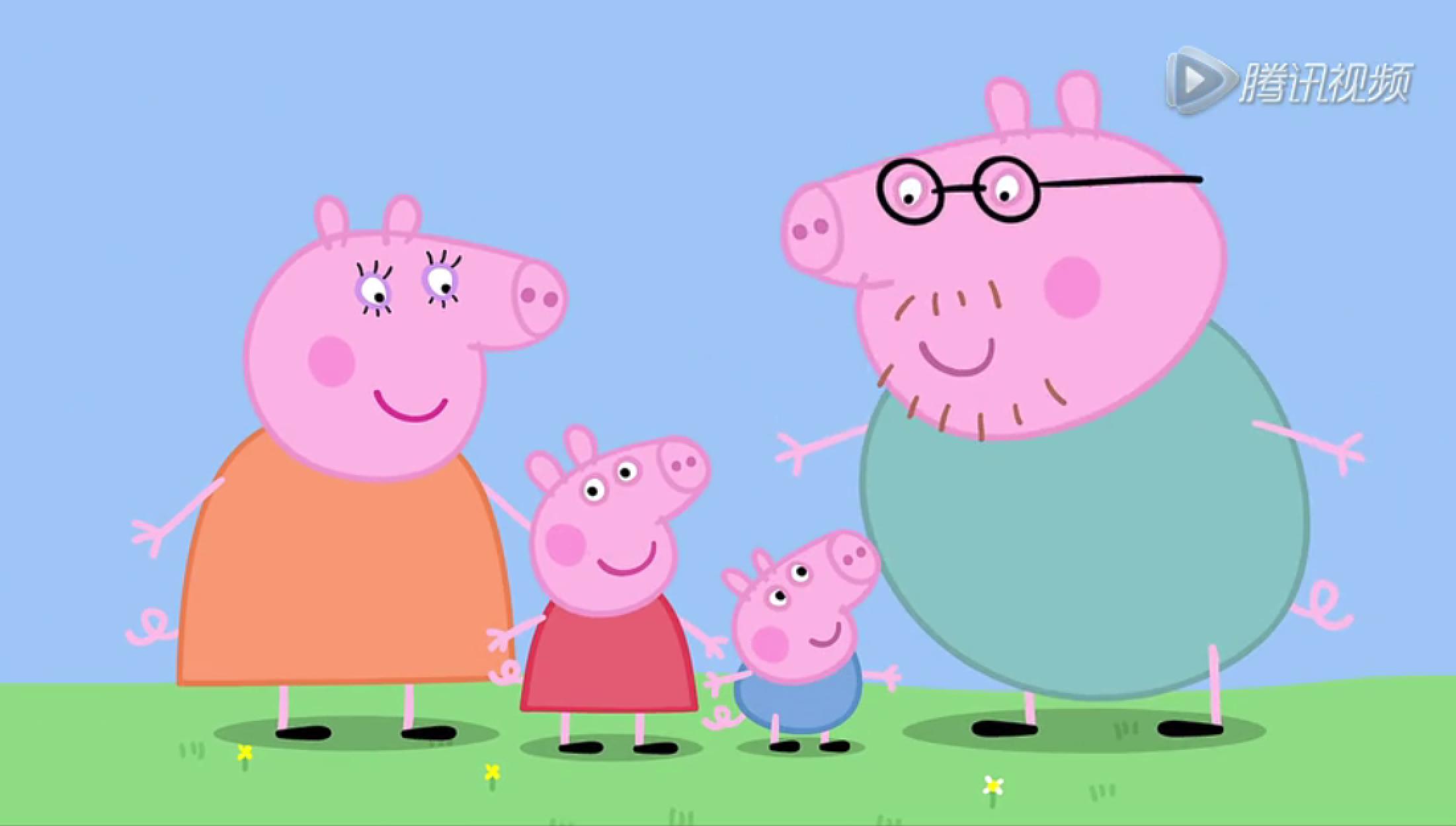 猪妈妈_无论大人小孩,都被这只粉红猪小妹圈粉