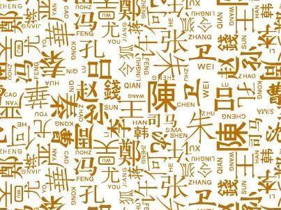 2013年中国姓氏排名_最新百家姓排名-