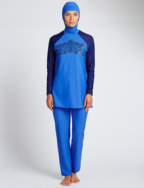 英國百貨公司推出穆斯林泳衣圖片