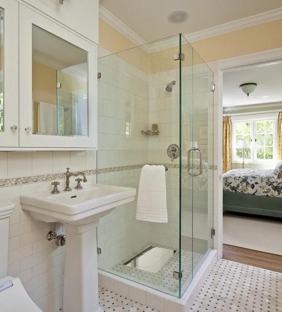 蹲式厕所装修效果图_献给坐着拉不出的你——卫生间蹲便器装修效果图