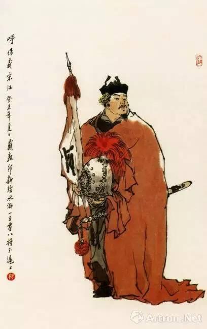 新水浒传卢俊义_雅昌专稿同样的《水浒》不同的解读:看艺术家如何演绎一百单八将