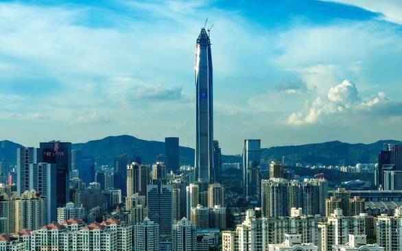 """深圳未来高楼规划_将""""高攀不起""""罗湖?深圳未来第一高楼将高达739米,刷新记录 ..."""