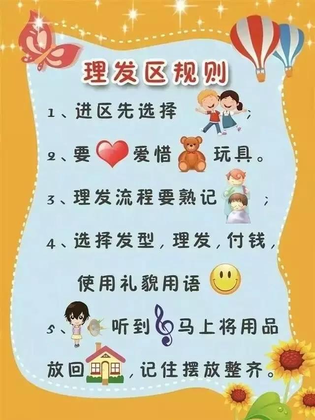幼儿烧烤区角进区规则_新学期幼儿园各个区域规则设置(可直接印刷)_搜狐教育_搜狐网